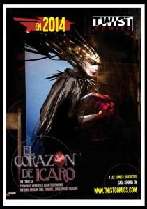 Dossier Twist Comics, El Corazón de Ícaro