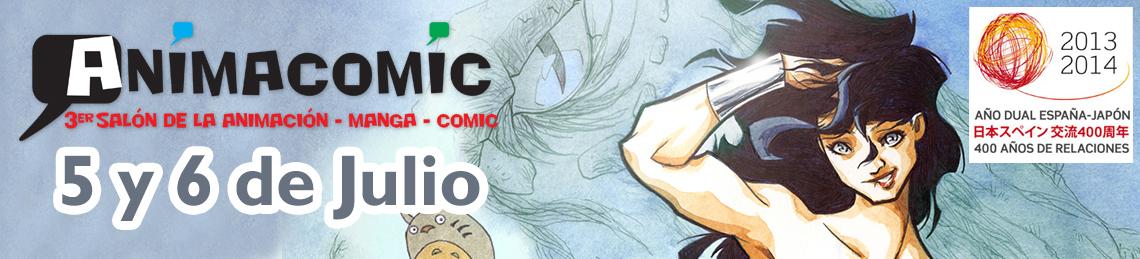 AnimaComic 2014 – Salón del Comic, Manga y Animación