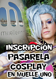 Pasarela cosplay Animacomic-Muelle Uno