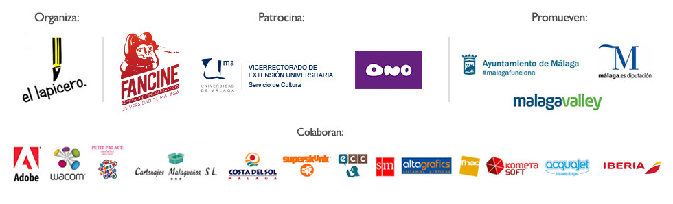 Patrocinadores, colaboradores y organización