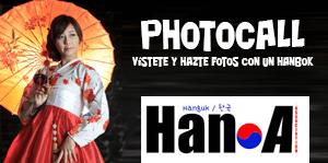 Photocall hanbok