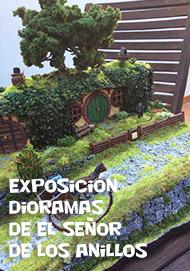 Exposición de dioramas, El Señor de los Anillos