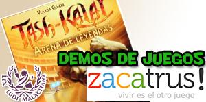 Demos de juegos de Zacatrus