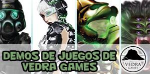 Demos de juegos de Vedra Games