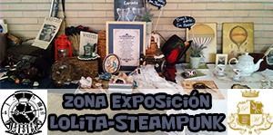 Zona de exposición Lolita – Steampunk