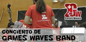 Concierto de la Games Waves Band