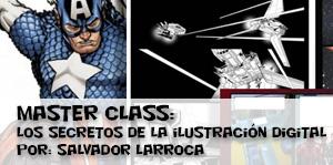 Master Class de Salvador Larroca: Los secretos de la ilustración digital