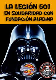 La Legión 501 en solidaridad con Fundación Aladina