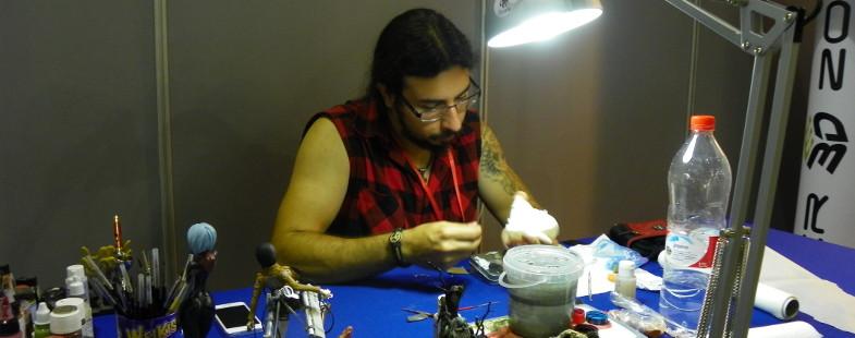 Antonio Rodríguez, tuneado de figuras manga