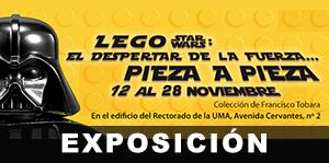 RECTORADO, 12-28 NOV: Lego Star Wars: El despertar de La Fuerza… pieza a pieza