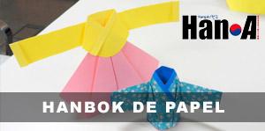 Taller de hanbok de papel