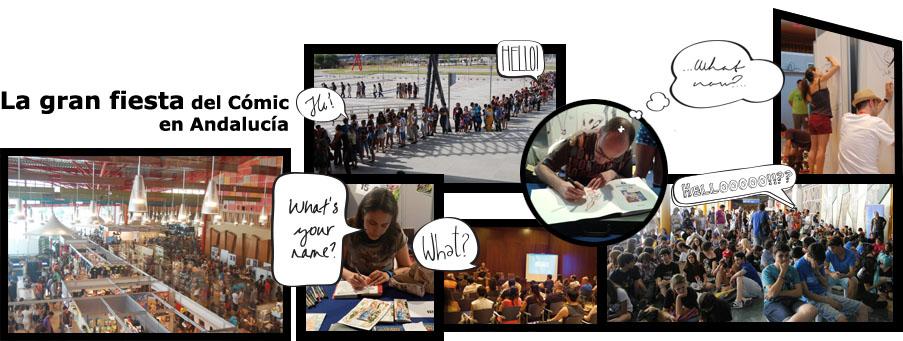 Animacomic, la gran fiesta del comic en Andalucía
